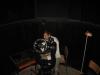 Z. Tomić  proverava kontrole teleskopa preko računara