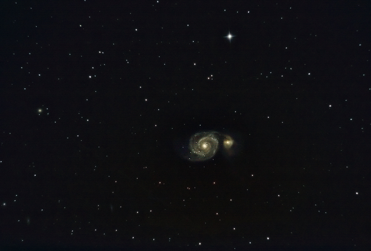 Galaksija, ili možda dve